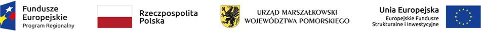 Fundusze Europejskie Program Regionalny | Rzeczpospolita Polska | Urząd Marszałkowski Województwa Pomorskiego | Unia Europejska Europejskie Fundusze Strukturalne i Inwestycyjne